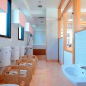 トイレの排水は井戸水を利用し、環境に配慮しています。